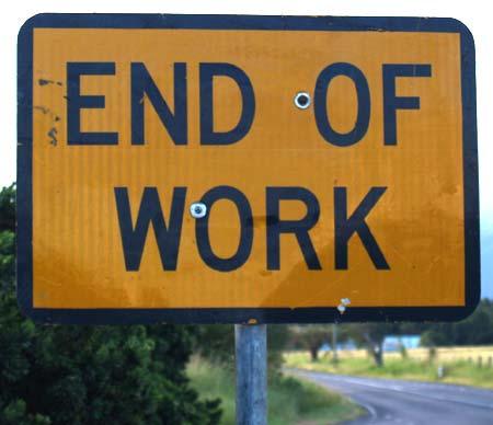 End of work - Feierabend