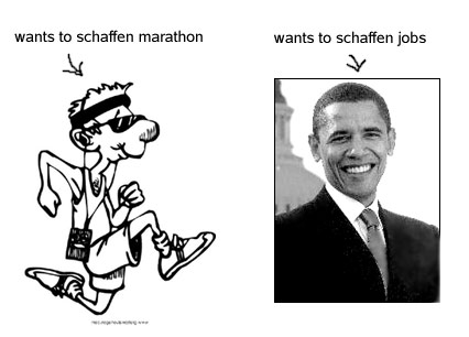 2 meanings of schaffen