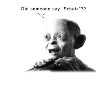 schaetzen-schatz-meaning