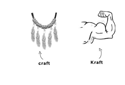 kraft-craft-meanings